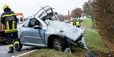Pkw-Lenkerin nach Crash mit Rettungswagen verstorben