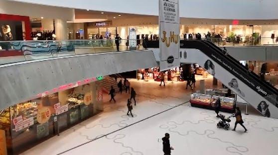 So sah es am 9. November in den Wiener Einkaufszentren aus.