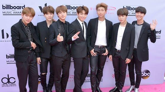 Die koreanische Boygroup BTS gehört zu den großen Siegern der diesjährigen MTV Europe Music Awards.