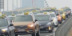 Riesige Taxi-Demo legt heute Wien lahm