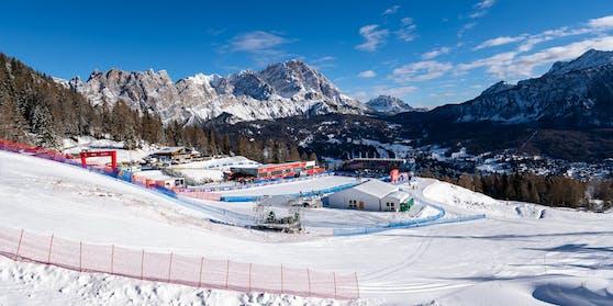 Cortina d Ampezzo, ein Wintersportort in Italien