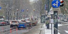 Schnee sorgt erneut für rote Warnstufe in Österreich
