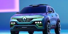 Renault zeigt mit dem Kiger Show Car neues Design