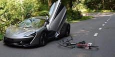Versuchte McLaren-Lenker, Radfahrer zu töten?