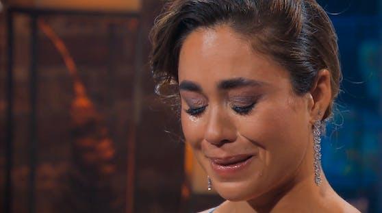 """""""Das hat mir so viel bedeutet"""": Melissa ringt im """"Bachelorette""""-Finale um ihre Worte, hat ihre Entscheidung aber bereits gefällt."""