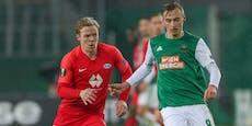 2:2 reicht nicht! Rapid vergeigt Aufstieg gegen Molde