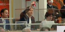 """""""Was du da machst"""" – Bacardi-Cola-Aufreger im Parlament"""