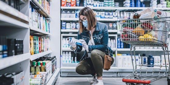 Themenbild: Einkaufen in der Hygiene-Abteilung