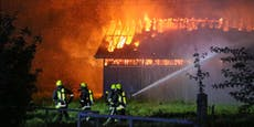 Pyromane (50) fackelt Hof ab – Schaden in Millonenhöhe