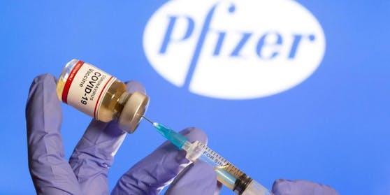 Das Vakzin von Biontech soll auch gegen die indische Mutation des Coronavirus wirken.