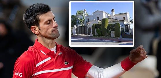 Das 10-Millionen-Anwesen von Novak Djokovic in Marbella
