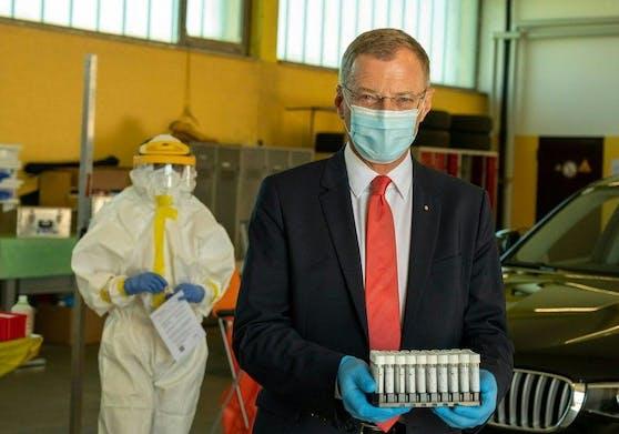 LH Thomas Stelzer (ÖVP) stemmt sich gegen einen Lockdown.