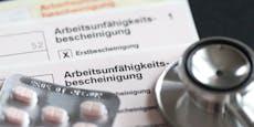 """Österreicher sind """"zu viele"""" Tage im Krankenstand"""
