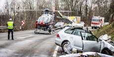 Frontal-Unfall fordert einen Toten auf der B3