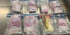 Passagier wollte mit 100.000 Euro in Unterhose abreisen