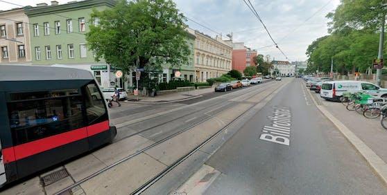Blick in die Billrothstraße in Wien-Döbling