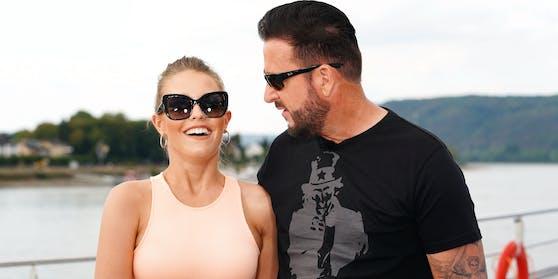 Laura Müller und ihr Ehemann Michael Wendler