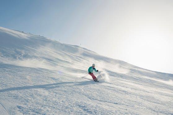 Skifahren weit weg vom Massen-Tourismus.
