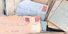 Frau rettet alte Briefe und macht Familie überglücklich