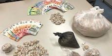 Dealer hortete über ein Kilo Drogen in Wiener Wohnung
