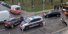 Auto erfasst Wienerin in der Donaustadt