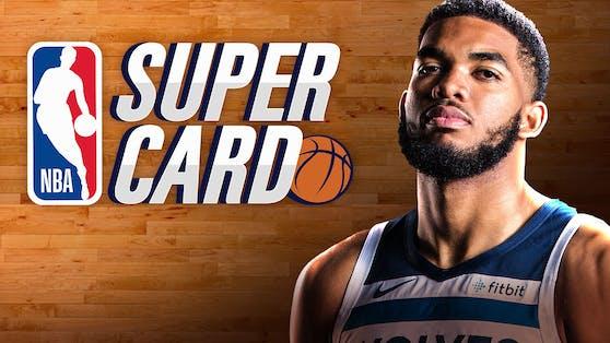 """""""NBA SuperCard"""" ist ab sofort weltweit für iOS- und Android-Geräte verfügbar."""