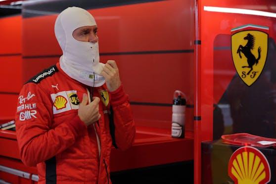 Sebastian Vettel nimmt Abschied von Ferrari.