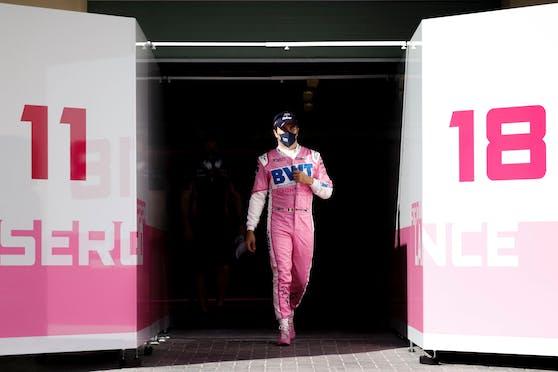 Fährt Sergio Perez im kommenden Jahr im Red Bull?