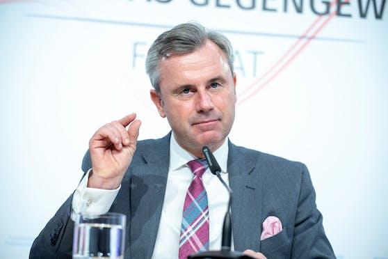 FPÖ-Chef Norbert Hofer.