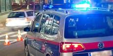 Polizist rettet sich mit Sprung zur Seite vor Raser