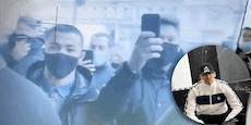 RAF eröffnet Barber-Shop: Polizei kündigt sich schon an