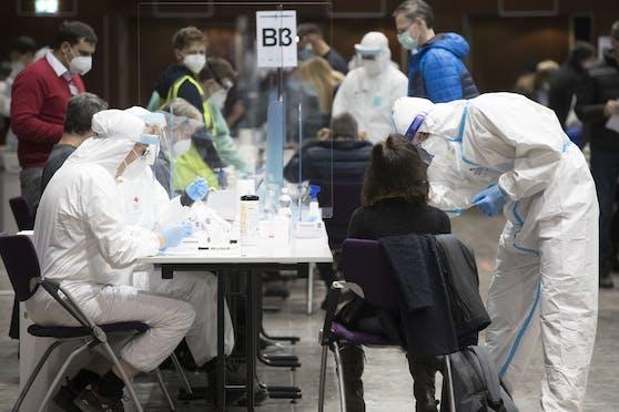 Massentests in Graz: Eine Prognose lässt eine Corona-Explosion befürchten.