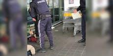 Polizei rettet misshandelten Hund vor Prügel-Herrchen