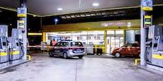 Raubüberfall auf Tankstelle – Täter auf der Flucht