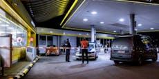Tankstelle mit Hackbeil in Wien überfallen