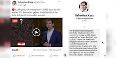 Fake-Kanzler verlost sechs Millionen Euro auf Facebook