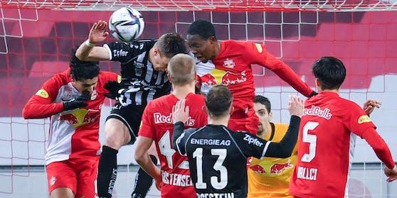 Spektakel: Salzburg gegen den LASK