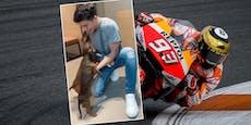 Tierischer Empfang für Marquez nach dritter Operation