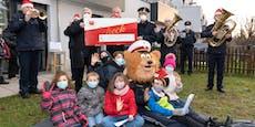 Wiener Polizei zaubert Kindern ein Lächeln ins Gesicht