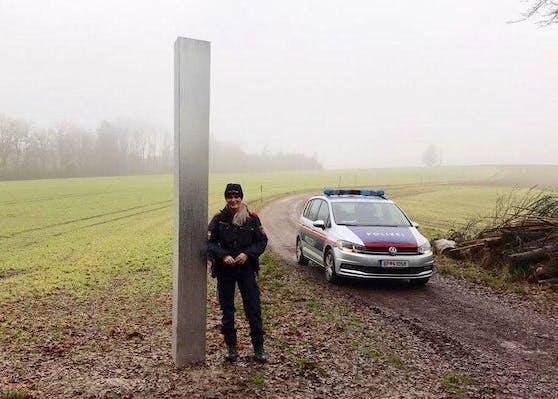 Nun tauchte auch in Oberösterreich, genauer in Peuerbach, ein rätselhafter Monolith auf.