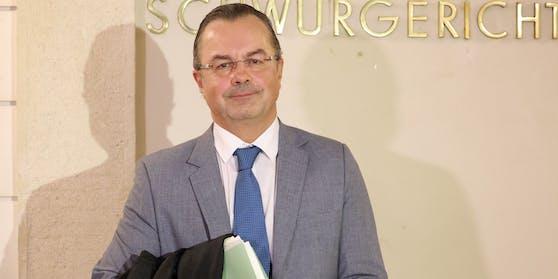 Mit dem Urteil zufrieden: Verteidiger Andreas Reichenbach