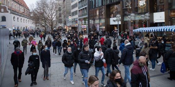 Eine Shopping-Tour in Bayern endete für mehrere Österreicher mit einer Strafe.