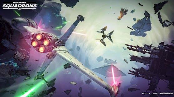 """Neue Sternenjäger und angepasste Matches in """"Star Wars: Squadrons"""" verfügbar."""