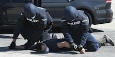 Verfolgungsjagd! Polizei stoppt Schlepper mit Schüssen