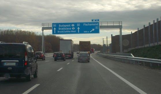 Der junge Lenker war viel zu schnell auf der A4 unterwegs.