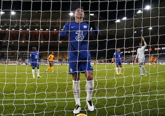 Thiago Silva kann es nicht fassen –Chelsea verlor mit 1:2.