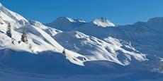 Skitourengeher stirbt durch selbst verursachte Lawine
