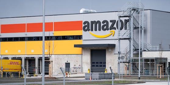 Amazon-Sortierzentrum in Garbsen, Deutschland