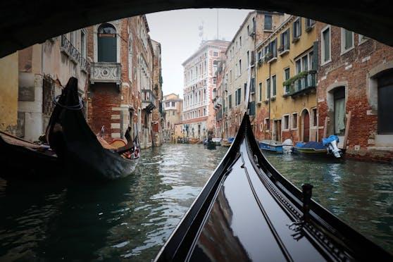 Venedig – sonst voll mit Menschenmassen – ist zu Corona-Zeiten wie leer gefegt.