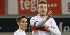 "Doppelpack! ""Joker"" Kalajdzic rettet Stuttgart ein 2:2"